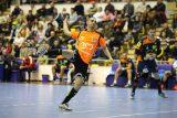 Partida de handbal masculin dintre Dunarea Calarasi si CS Minaur in cadrul optimilor de finala din Cupa Romaniei. PAUL URSACHI / UPFOTO